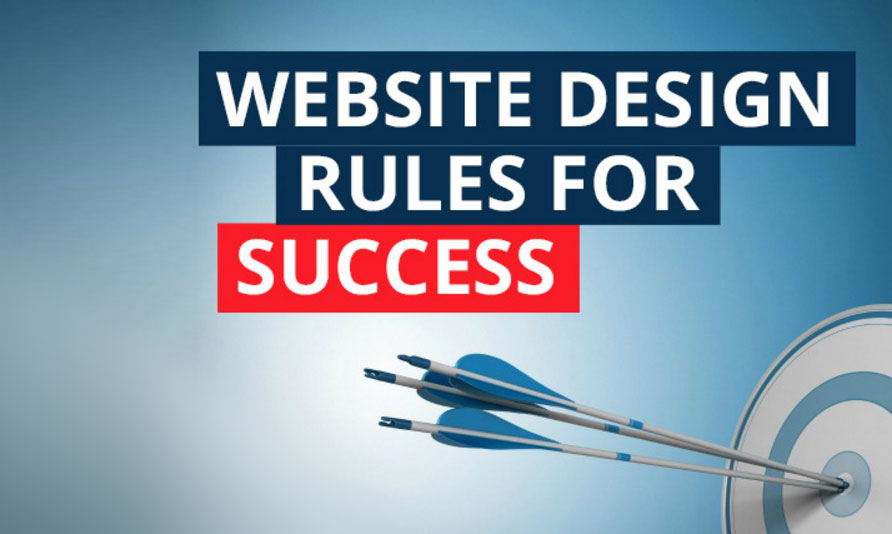 general rules for web design