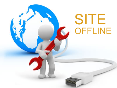 website offline