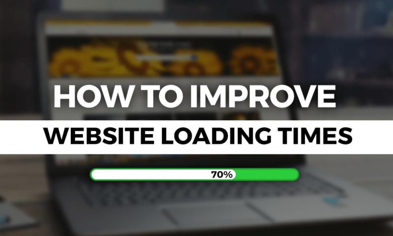 Web Page Loading Times