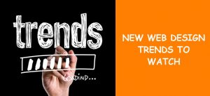 New web design trends